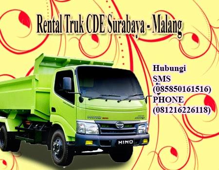 Rental Truk CDE Surabaya - Malang