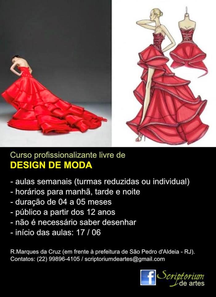Curso Profissionalizante livre de Design de Moda