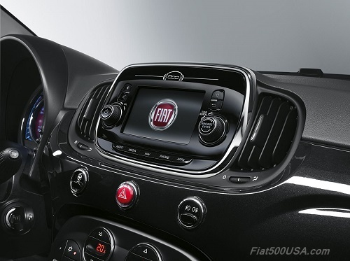 New Fiat 500 Uconnect Navigation