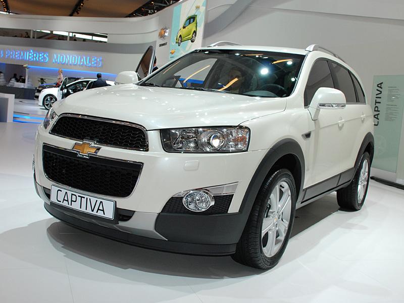 Chevrolet captiva autosmr