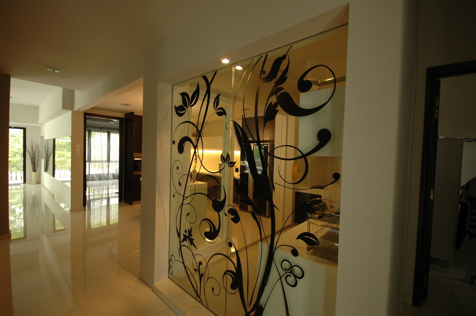 hauz completion ground floor wet kitchen with decal. Black Bedroom Furniture Sets. Home Design Ideas