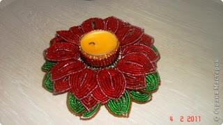 французская техника плетения бисером