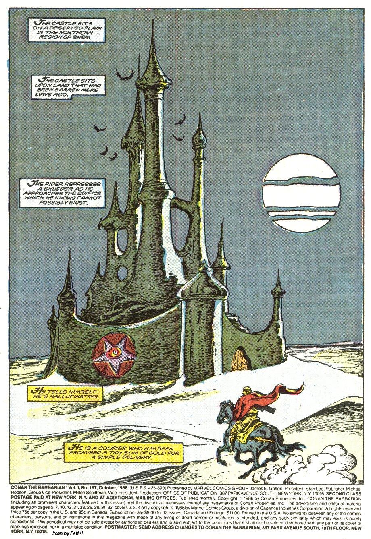 Conan the Barbarian (1970) Issue #187 #199 - English 2
