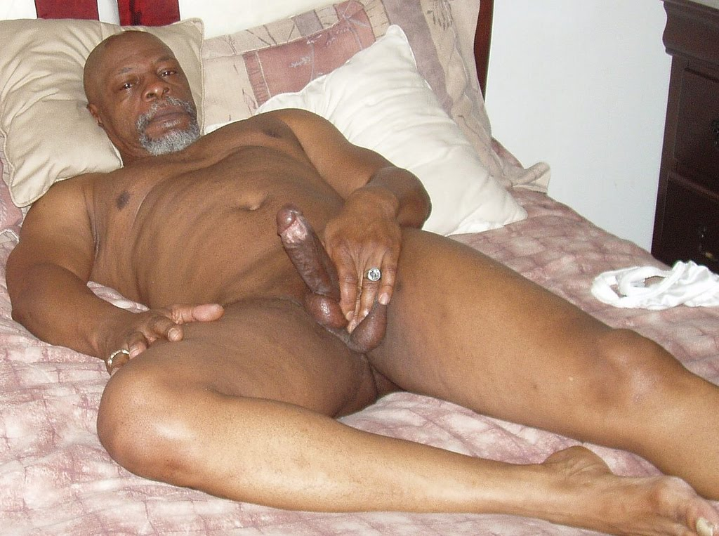 Naked Gay Old Man Daddy