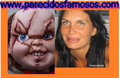 Yola Berrocal mas fotos con Chucky