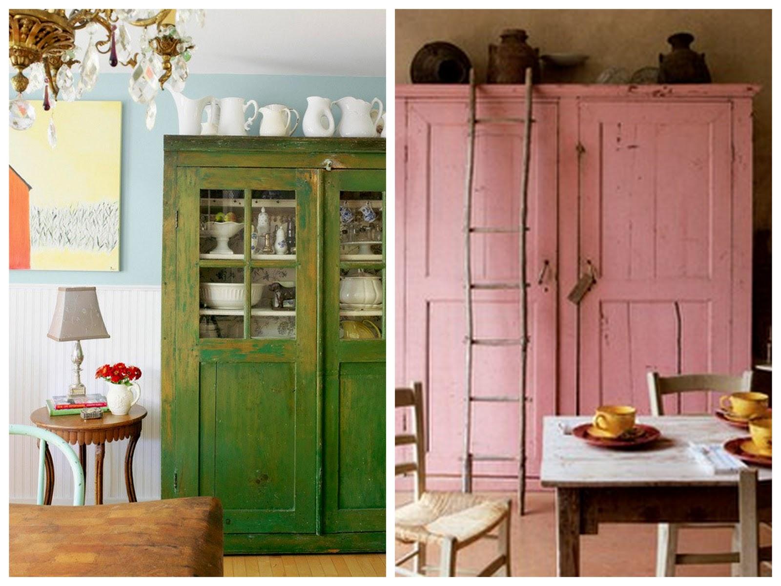 Alacenas para todos los gustos amor por la decoraci n for Alacenas vintage