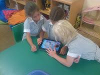 iPads in Grade 1W