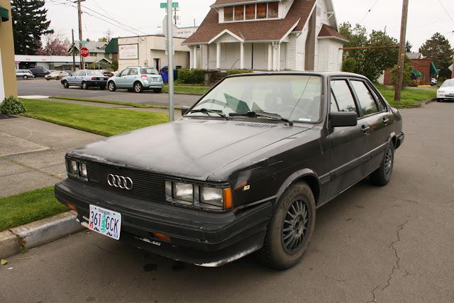 1985 Audi 4000S Quattro Sedan.