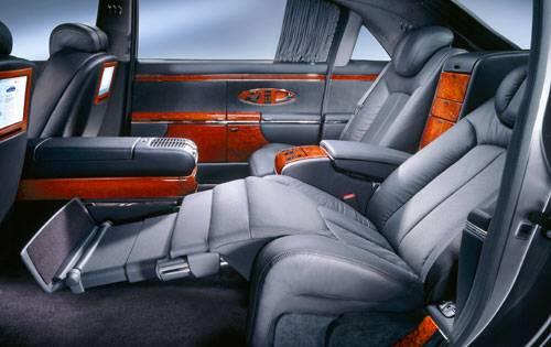 mercedes maybach exelero - Mercedes Maybach Interior