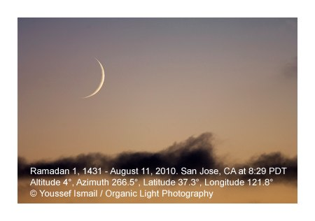 Moon Sighting Of Eid 2013