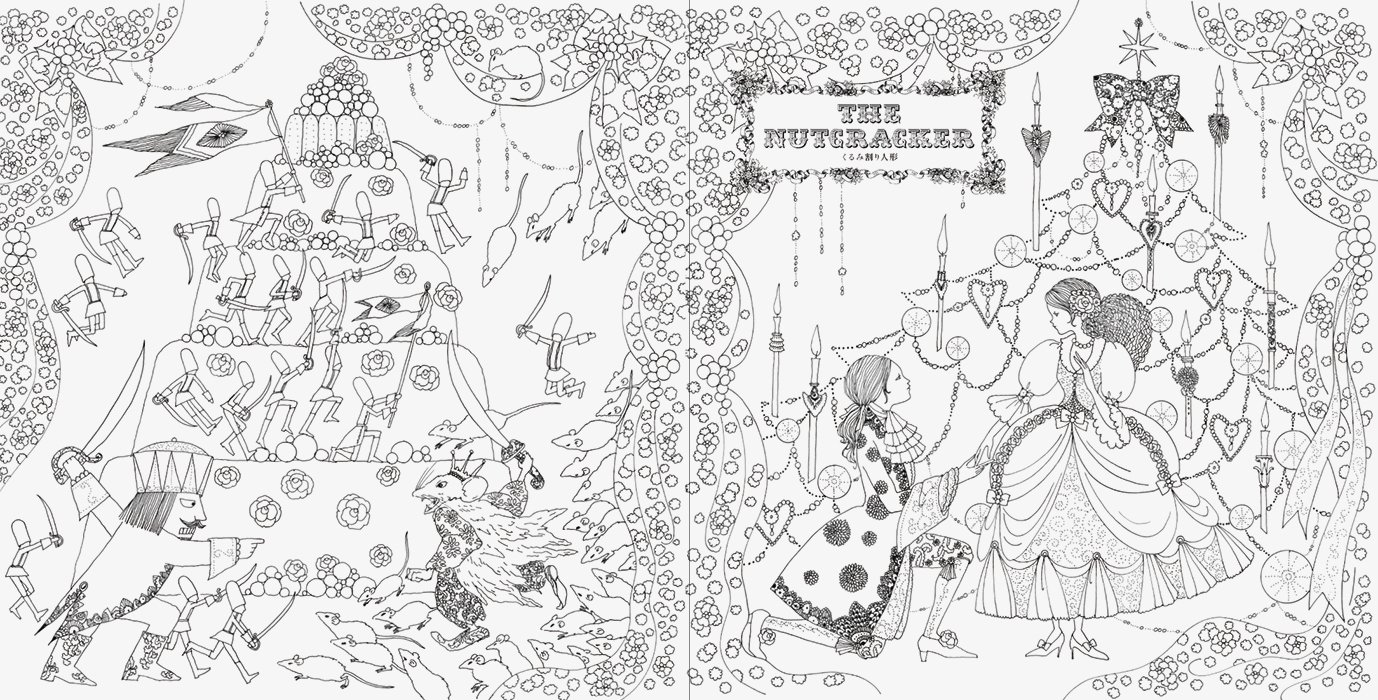 SurLaLune Fairy Tales Blog: Coloring Book Week: Fairy Tale Colouring ...