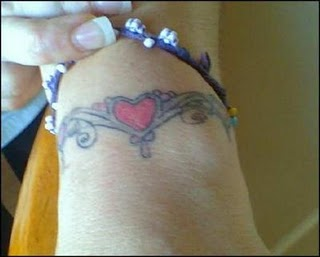 i love you tattoos, love tattoos, heart tattoos