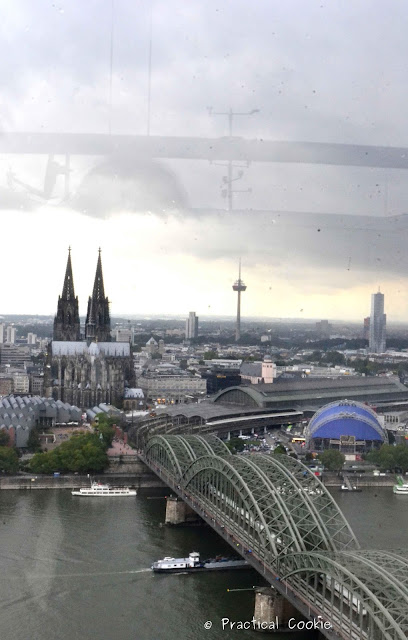 View of the Dom from 28 Stories Up in Köln