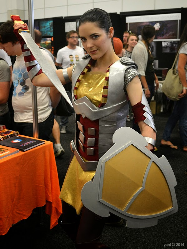 oz comic-con adelaide - lady sif