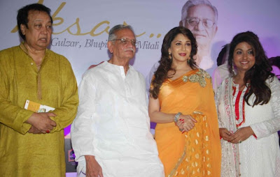 madhuri dixit in aksar album launch unseen pics
