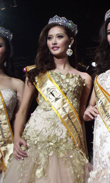 Miss Supranational Thailand 2013 winner Thanyaporn Srisen