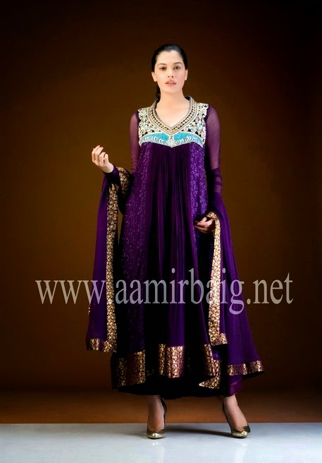 Aamir Baig Semi Formal Dress Collection