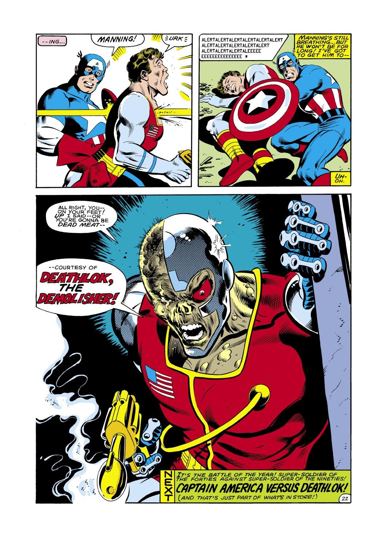 Captain America (1968) Issue #286 #202 - English 23