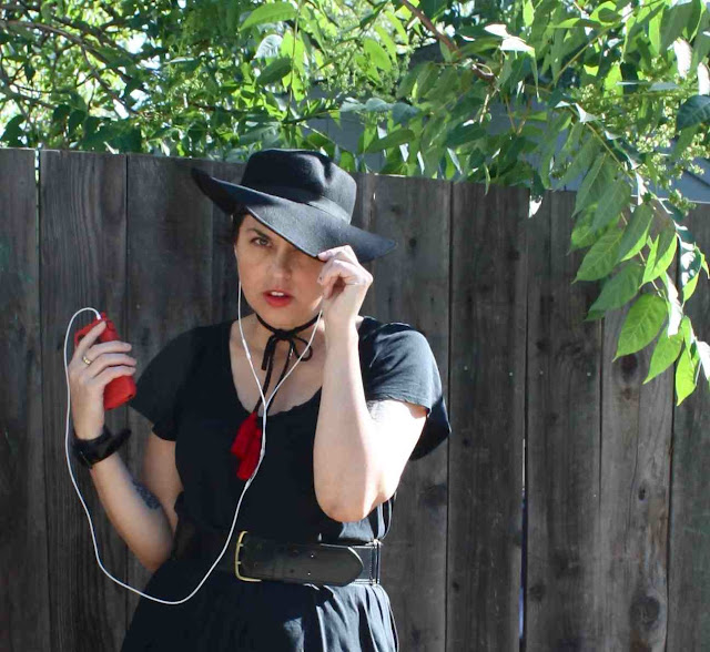 outfit post: Black Western