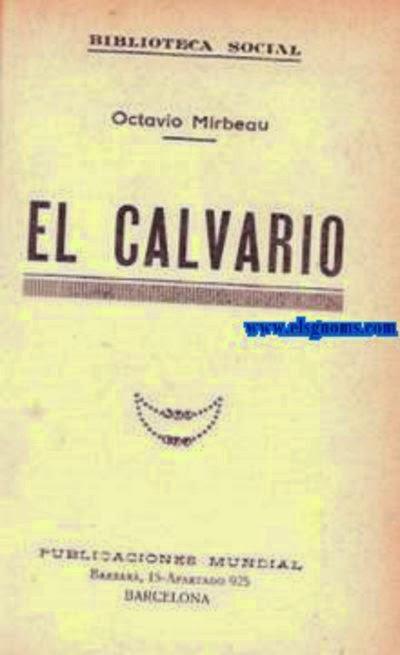 """Traducion espagnole du """"Calvaire"""", années 1930"""