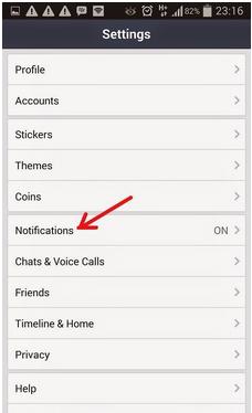 Cara Mematikan Notifikasi Invite Game di Aplikasi LINE