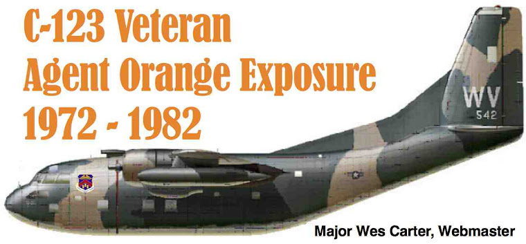 Agent Orange - C-123K Aircrew &amp; Maintainers