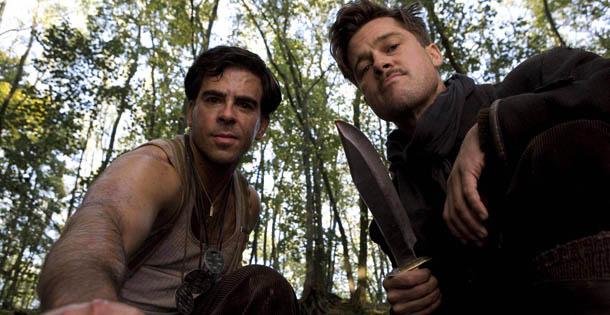 inglourious basterds - Quentin Tarantino - Planos contra picados
