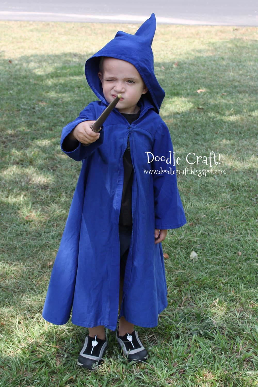 Doodlecraft: Jedi Master Wizard Duel Robes! Handmade costumes!