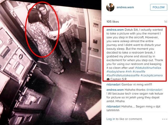 Eksklusif pramugari mas ini dedahkan tragedi for Siti di foto