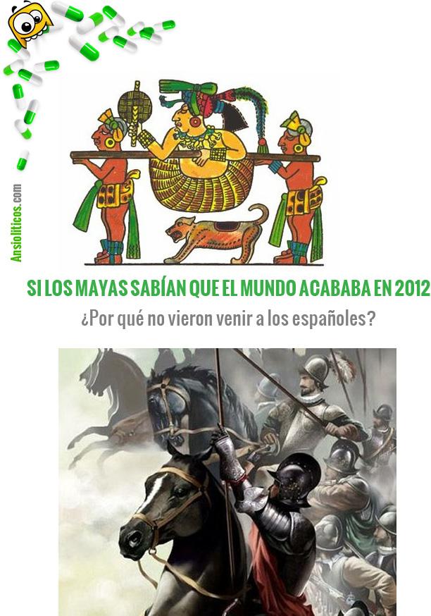 Chiste de los Mayas: Fin del Mundo 2012