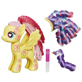 MLP Wave 3 Design-a-Pony Kit Fluttershy Hasbro POP Pony