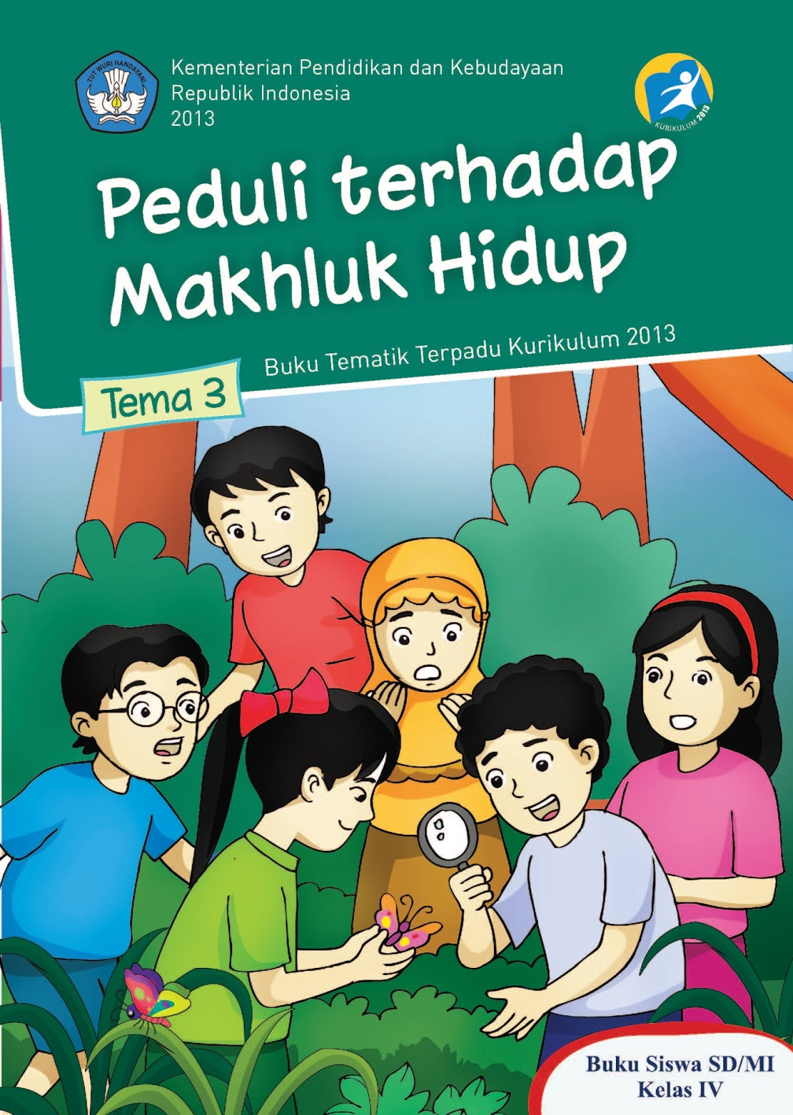 Download Buku Kelas 4 SD Kurikulum 2013