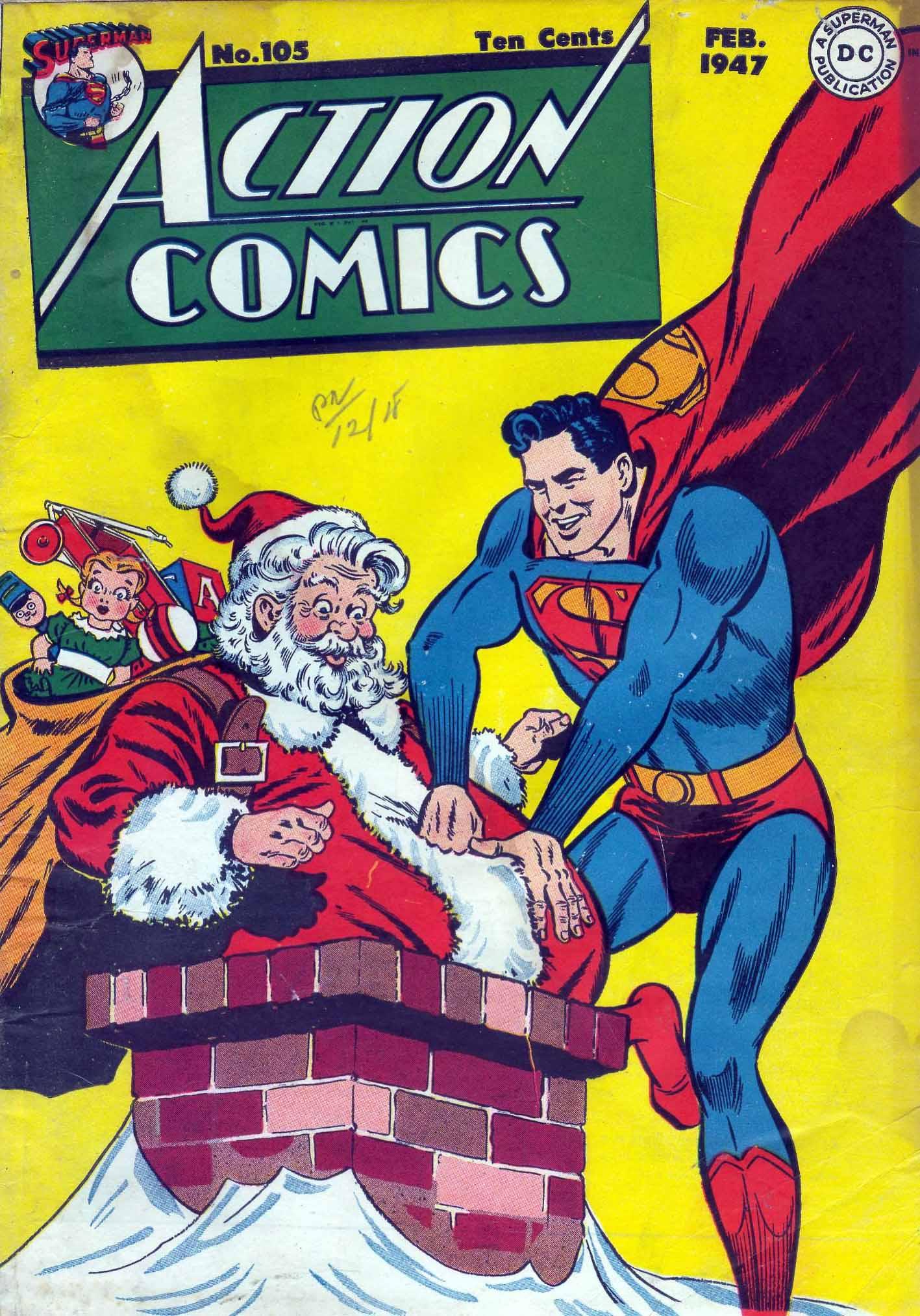 Action Comics (1938) 105 Page 1