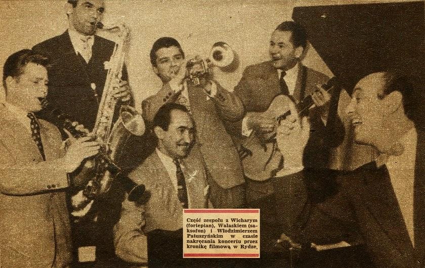Zespół Jazzowy Zygmunta Wicharego Zespół Dixielandowy Zygmunta Wicharego Śpiew Elizabeth Charles - Piano Blues