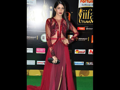 Tollywood Glamour Queens in IIFA Award Function