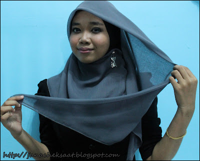 Blog fanacheksaat: :: Tutorial Qaleesya Plain Bawal 2 ::