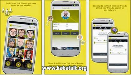 Busca nuevos amigos con Pinup Find Friends en KakaoTalk