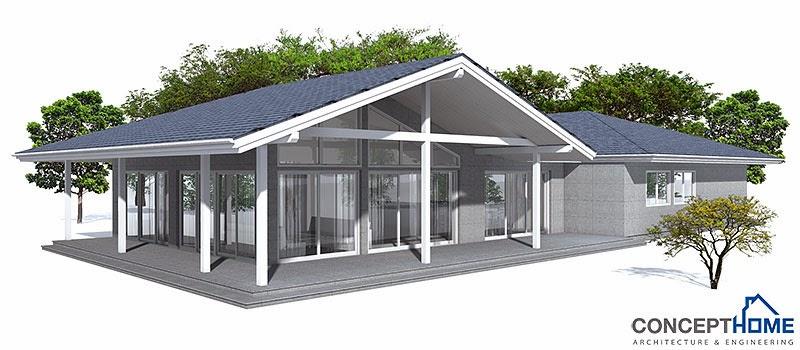 Australian house plans australian house plan oz29 for Modern australian house plans
