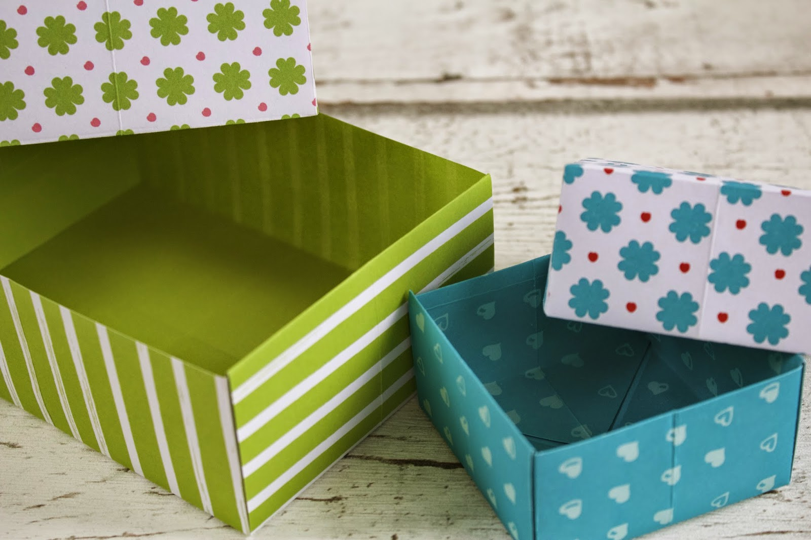 kleiner freitag nicht nur zum verschenken gut kunterbunte schachteln selber basteln teil1. Black Bedroom Furniture Sets. Home Design Ideas