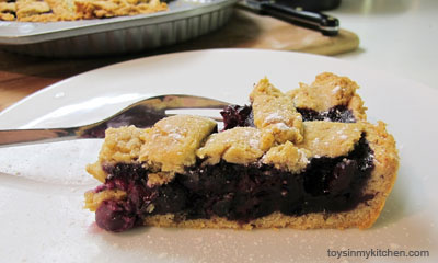 Blueberry Pie - Healthy Family Dessert