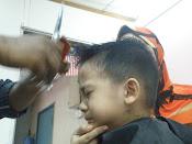 Jangan potong rambut saya !!