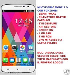 Cellulare dual sim smartphone z3 mtk6582
