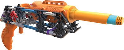 JUGUETES - K'NEX : K-Forze - 47516 K-10  Arma - Pistola | Juego de construccion 2015  Piezas: 94 | Edad: +8 años  Comprar en Amazon.es | Buy Amazon.com
