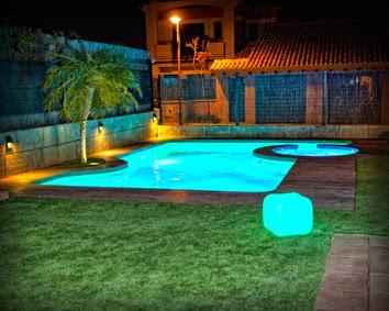 Focos led para piscinas jardines y terrazas - Focos piscina led ...