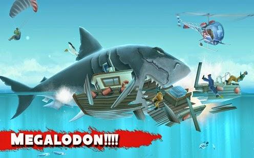 تحميل لعبة سمك القرش الجائع Hungry Shark للاندرويد