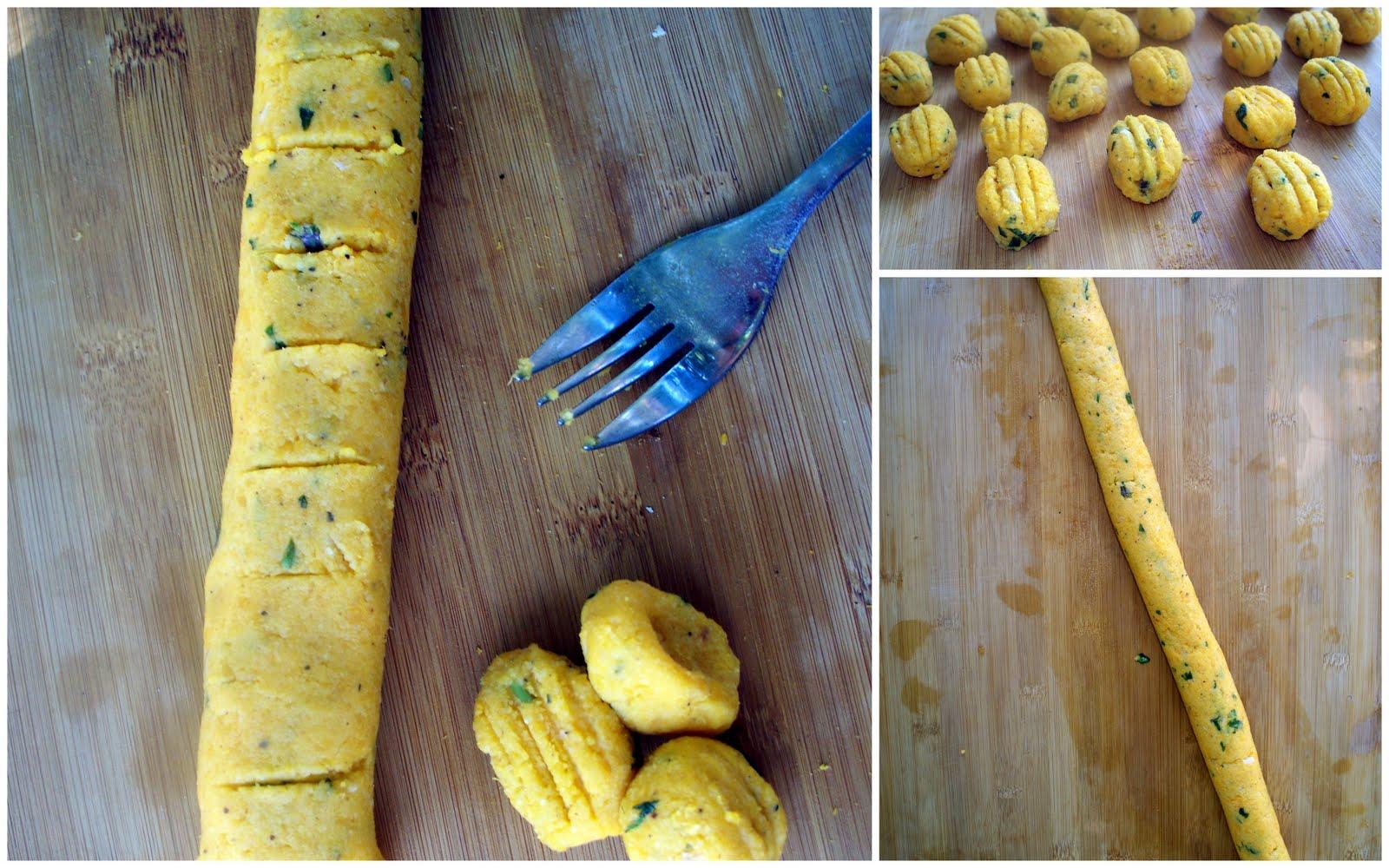 ... :: Baked Rosemary, Almond & Butternut Squash Gnocchi (gluten free