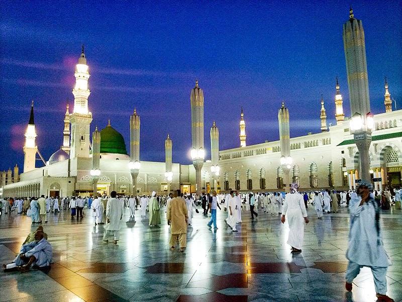 Gambar Masjid Nabawi 2014 Terbaru Al Munawaroh