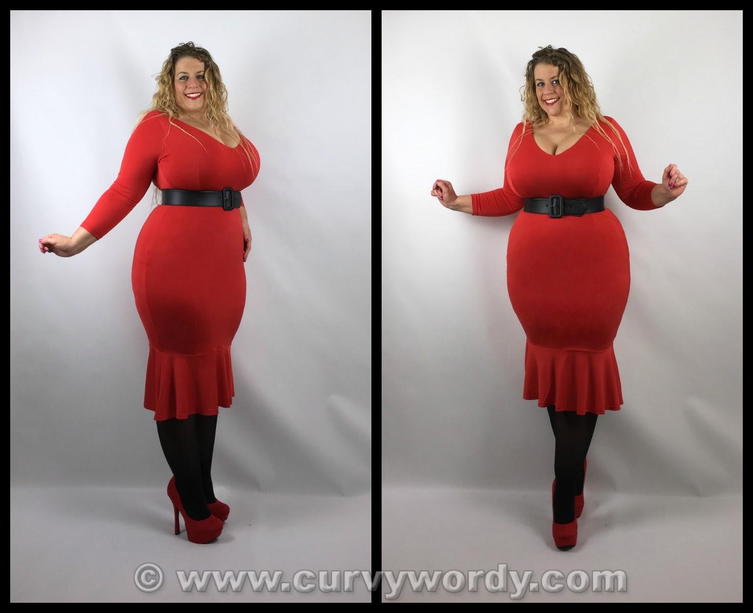 Lady V London: Lady Voluptuous Bellatrix Dress 16 - Curvy