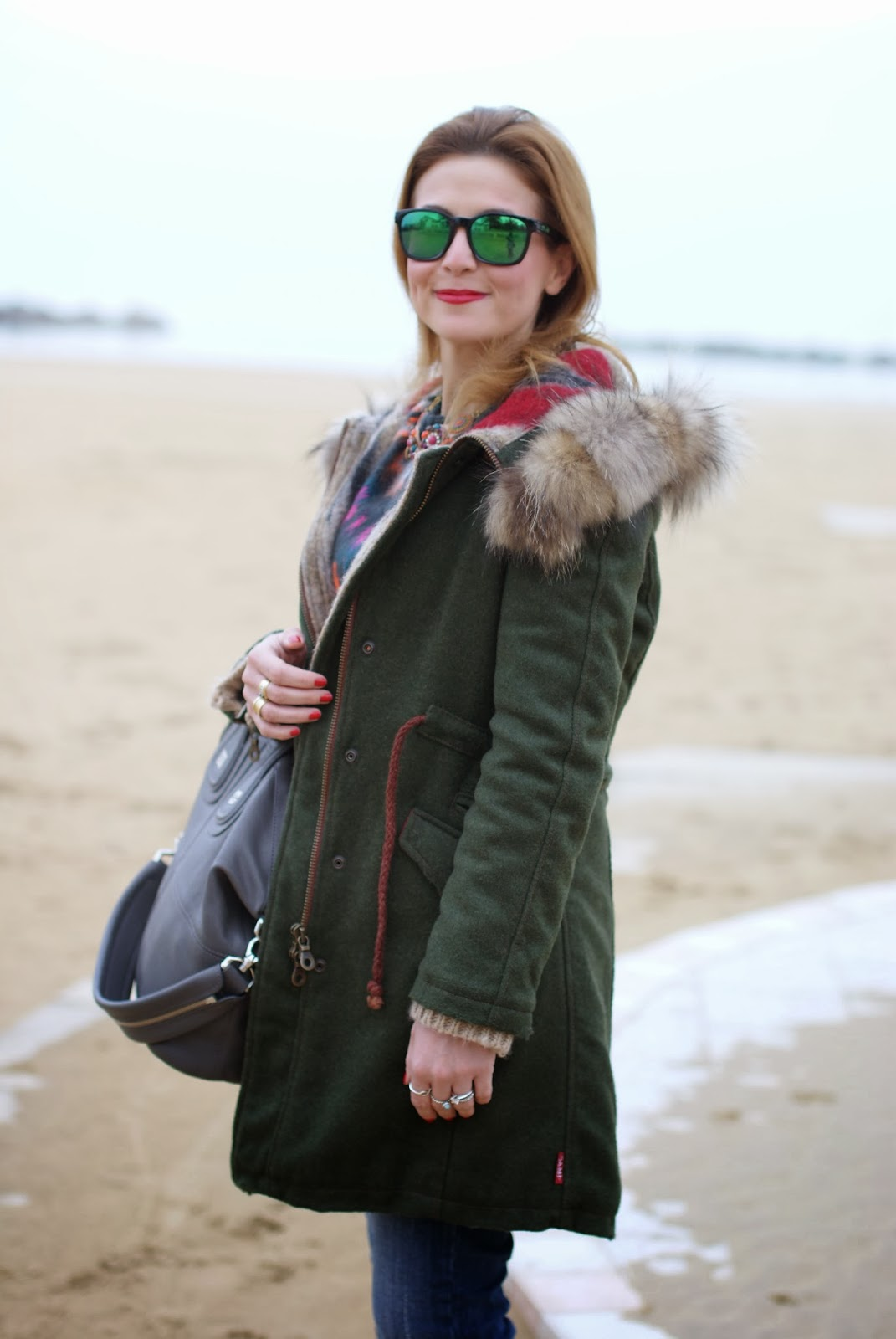 Gamp parka, Givenchy Nightingale bag, Oakley green sunglasses, Fashion and Cookies, fashion blogger