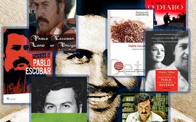 livros sobre pablo escobar
